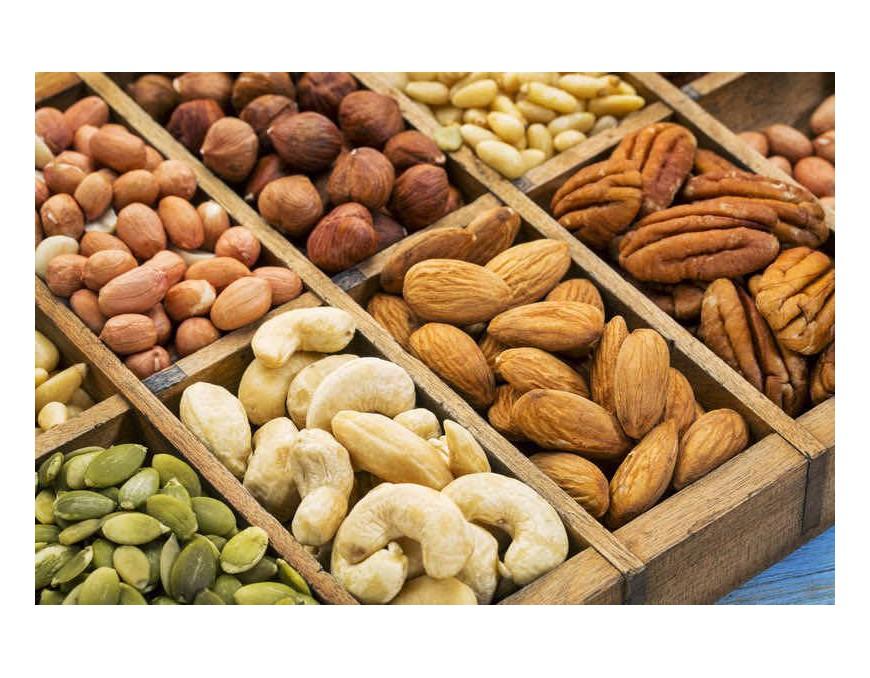 Los frutos secos como alimento